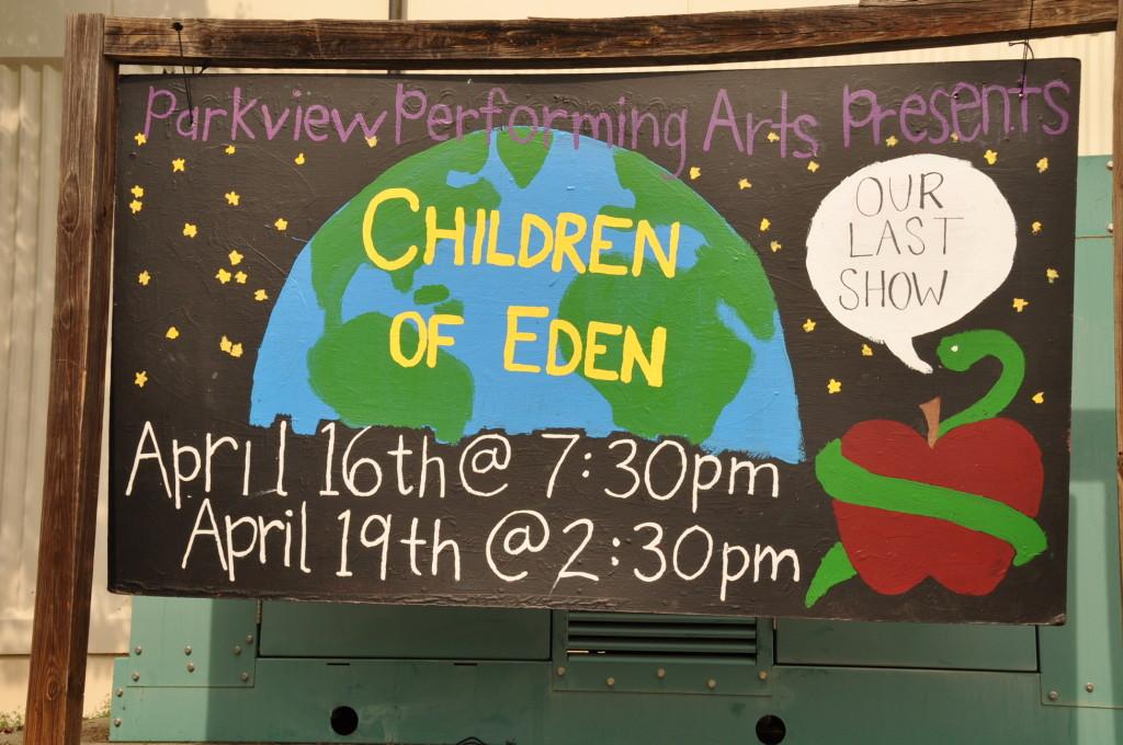 Children of Eden, April 16-19, 2015